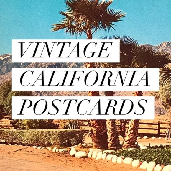 Vintage Other - Vintage California Souvenir Postcards